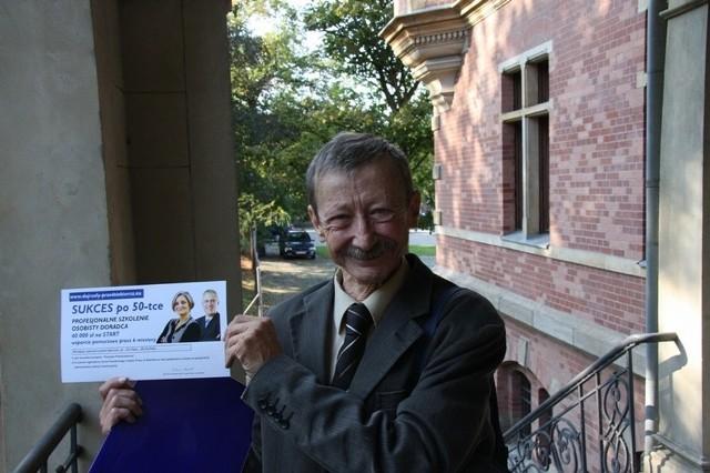 Jeden z bohaterów projektu,: Wiesław Michalski