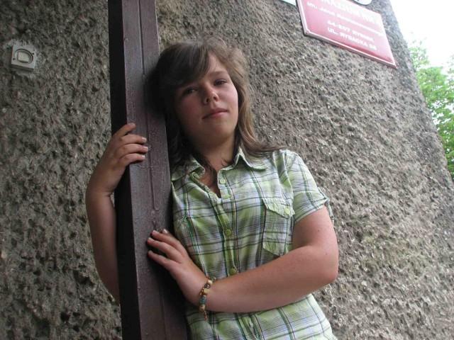 Ola Witkowska dostała za swój blog konkursowe wyróżnienie