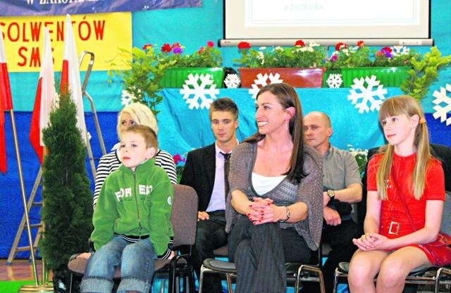 Multimedalistka Justyna Kowalczyk była gościem honorowym obchodów 30-lecia szkoły