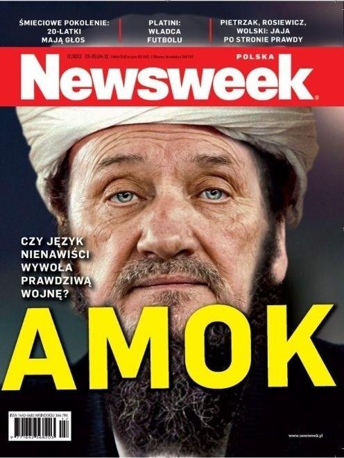 """Kontrowersyjna okładka tygodnika """"Newsweek"""""""