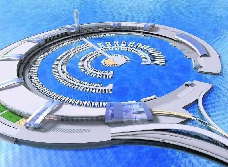 Takie sztuczne wyspy znane są w świecie jako te, które fundują sobie bogaci Arabowie.