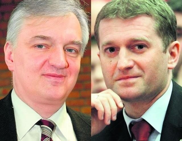 Od dawna wiadomo, że Raś walczy głównie z Jarosławem Gowinem