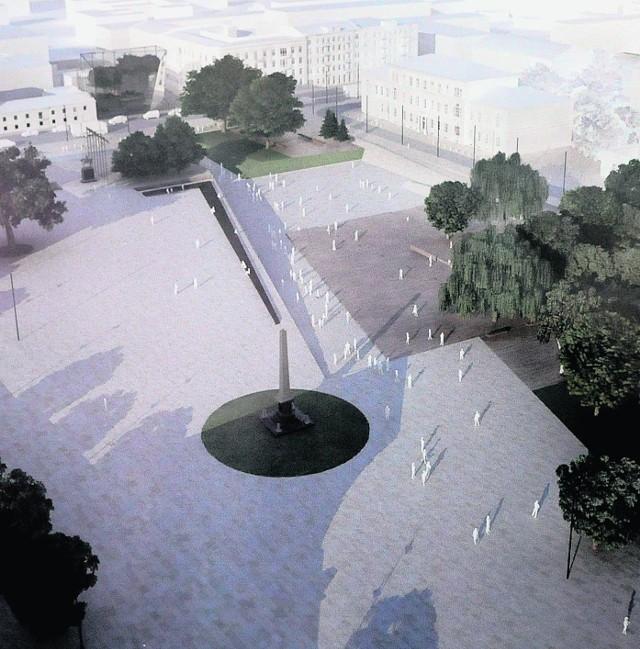 Tą koncepcję przebudowy placu Litewskiego ratusz odrzucił w listopadzie 2011 roku