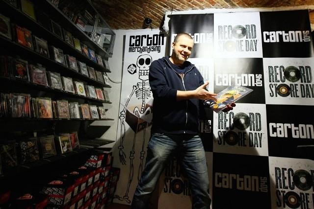 Record Store Day w poznańskim sklepie Carton Shop