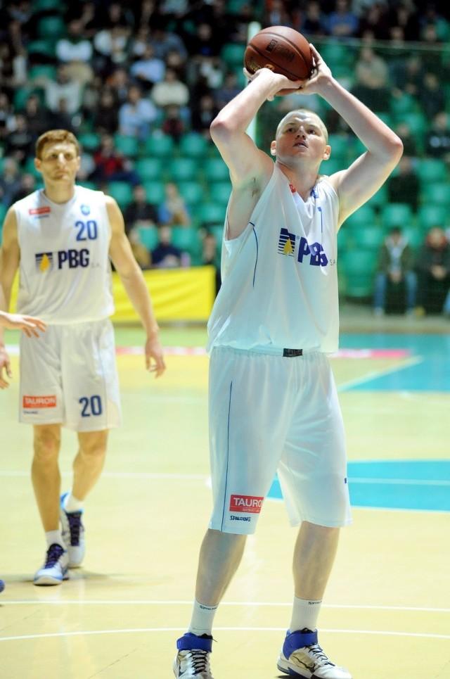 Damian Kulig, kapitan PBG Basket Poznań