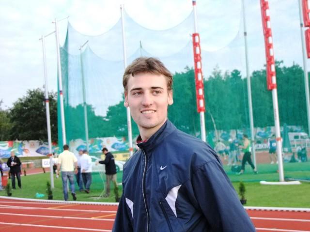 Artur Ostrowski, biegacz AZS Poznań