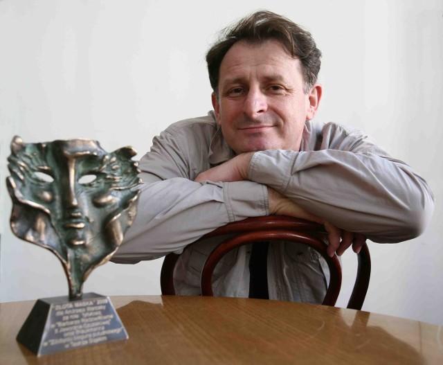Andrzej Warcaba – laureat Złotych Masek – teatralnych nagród dla najlepszych aktorów naszego regionu