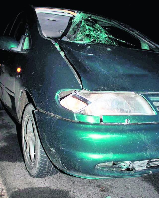 Kierowca nie miał szans uniknąć potrącenia, mieszkaniec Gierczyc wszedł wprost pod koła