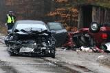 Wypadek śmiertelny na trasie 790 z Ogrodzieńca do Niegowonic