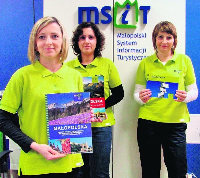 Ewa Olejarz, Monika Barzycka i Jolanta Kutniak pomogą turystom w Oświęcimiu