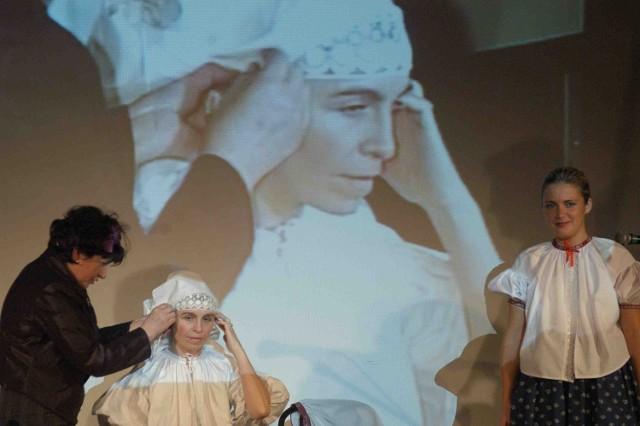 Małgorzata Kiereś pokazała obrzęd oczepin