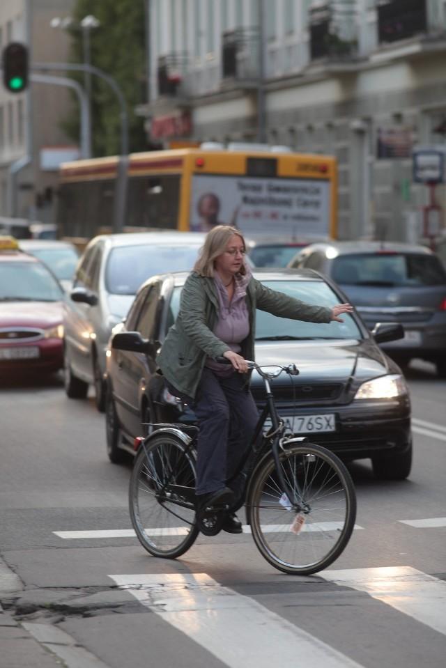 Jak radzą sobie rowerzyści w mieście?