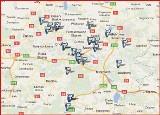 Mapa nazw obiegowych w miastach woj. śląskiego [MAPA]