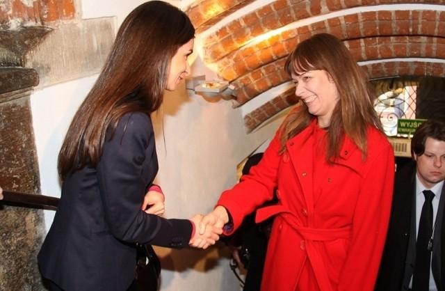 W sobotę Marta Kaczyńska spotkała się w Gdańsku z Sandrą Elisabeth Roelofs, małżonką prezydenta Gruzji Micheila Saakaszwilego