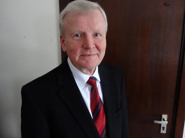 Prof. Roman Słowiński, prezes Oddziału Polskiej Akademii Nauk w Poznaniu