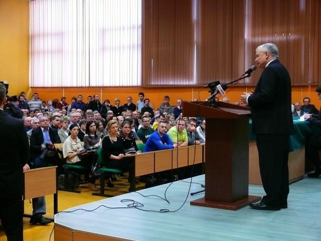 Jarosław Kaczyński w Chełmie