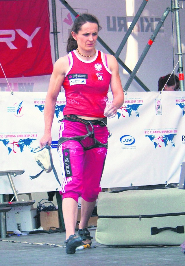 Edyta Ropek zamierza w kolejnych zawodach wypaść lepiej