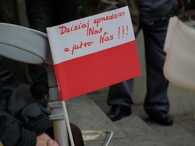 Mieszkańcy Piaskowej protestowali na ulicach Poznania pod koniec października.