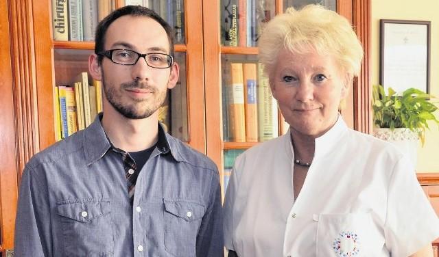 Szymon Dębicki i prof. Anna Latos-Bieleńska przekonują, że diagnostyka jest bardzo ważna