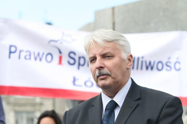 Witold Waszczykowski będzie przyjmował w nowym biurze PiS