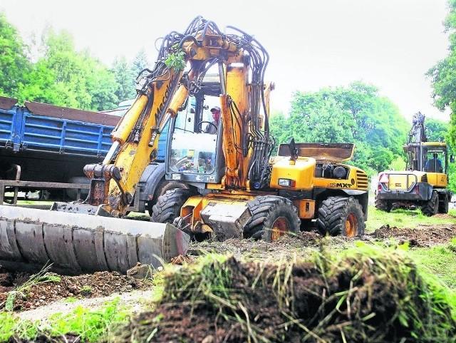 17 ha parku Zdrojowego po rewitalizacji ma być wizytówką Cieplic, prace kosztują 11 mln zł