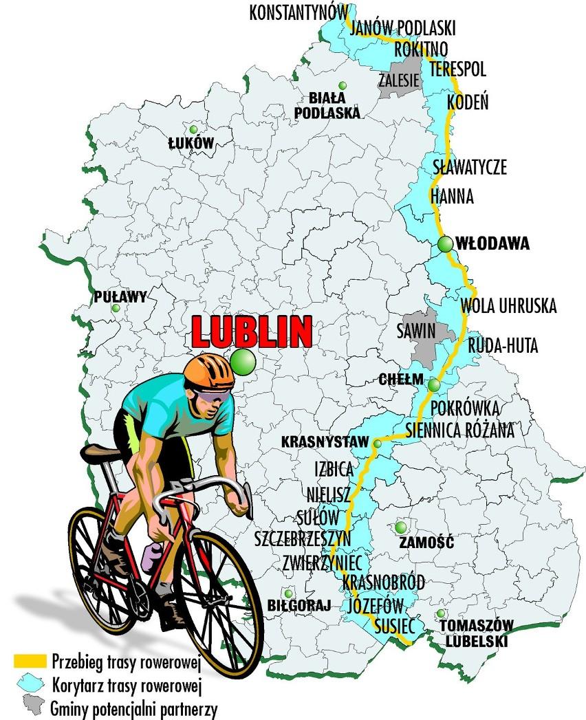 Ścieżką rowerową przez Polskę wschodnią pojedziemy...