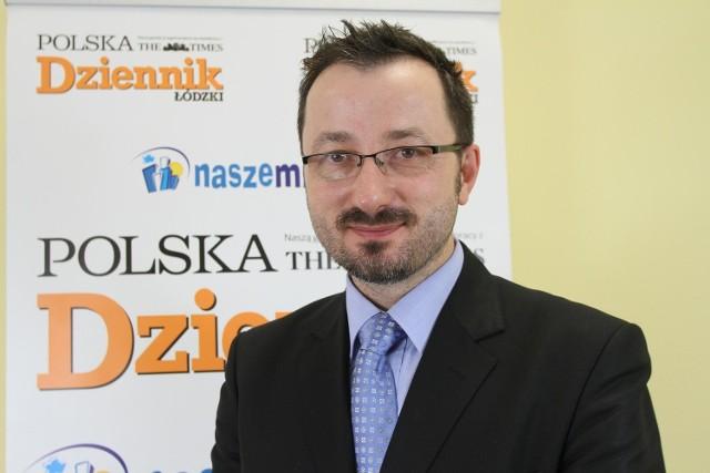 Krzysztof Piątkowski, wiceprezydent Łodzi.