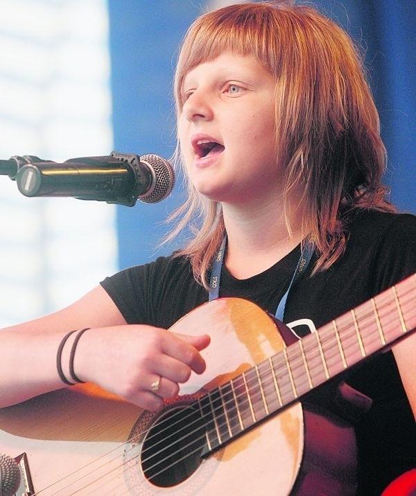 Na festiwalu w Kunicach wystąpiła młodziutka Nikola Warda