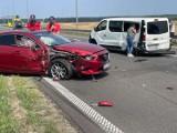 Raport drogowy: Wypadek na S3, dwie osoby ranne, droga zamknięta! Kolizja również na S6