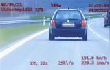Na trasie z Leszna do Rawicza jechali niemal 200 km/h. Policyjna grupa SPEED na rawickim odcinku S5 [FILM]