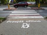 Przy konińskich przejściach dla pieszych pojawiły się ważne ostrzeżenia