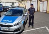 Konin. Policjant z Komendy Miejskiej uratował dziecko. Zawiózł dziewczynkę z matką do szpitala na sygnale