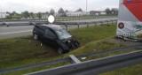 Niebezpieczny poranek na autostradzie A2. Wypadek na pograniczu powiatów [FOTO]