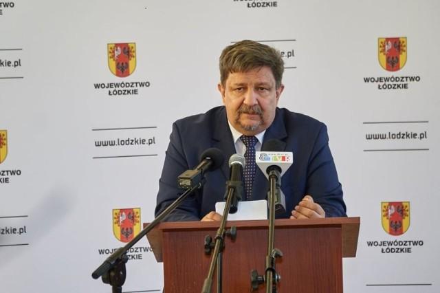 """Marszałek województwa łódzkiego odwiedzi powiat sieradzki w ramach cyklu """"Porozmawiajmy w Łódzkiem""""."""