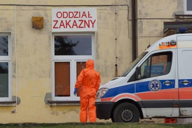 Koronawirus w Wielkopolsce. W poznańskim szpitalu zmarła 78-letnia mieszkanka Kalisza