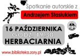 Andrzej Stasiuk w Żorach: spotkanie już dzisiaj!