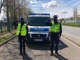 Syreny zawyły w Słupsku ku czci policjanta, który zginął na służbie
