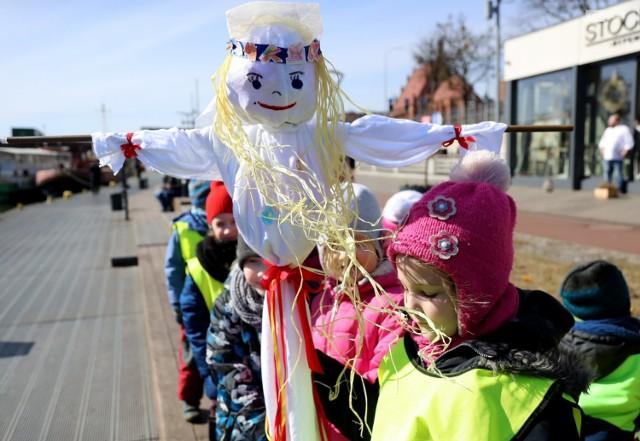 Przedszkolaki Przywitały Wiosnę W Szczecinie Był Korowód I