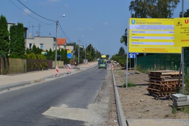 Pleszew. Modernizacja ulicy Prokopowskiej