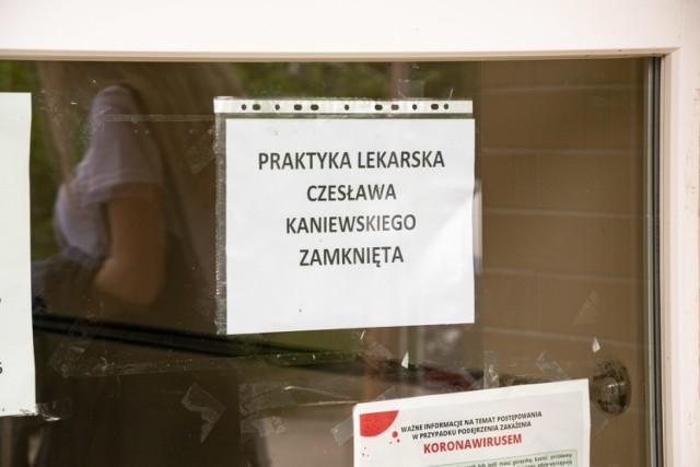 Gabinet zmarłego doktora w Kożuchowie od miesiąca jest zamknięty.
