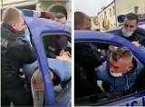 Interwencja policjantów w Bytowie za brak maseczki. Internauci oburzeni agresywnością!