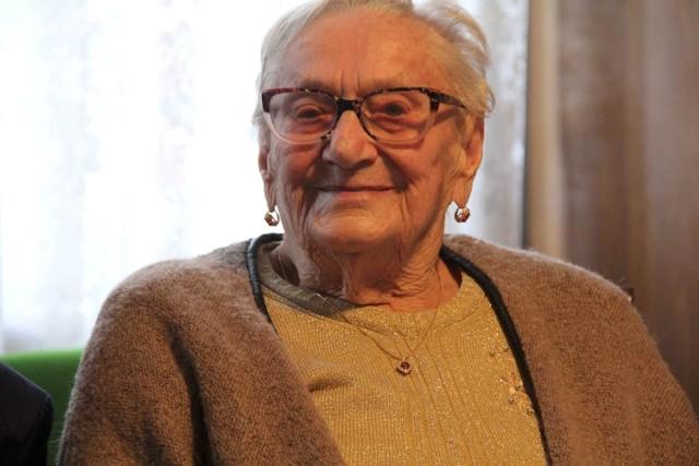 Setne urodziny Gertrudy Sołtysik z Kamionny - cały region śle życzenia zdrowia i wielu kolejnych lat życia (16.10.2020).