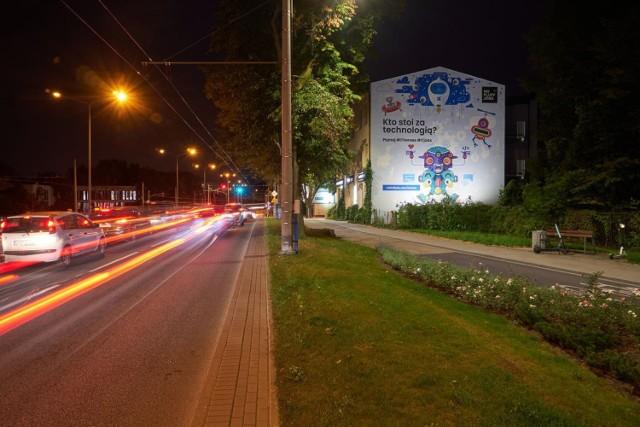 Nowy mural przy al. Zwycięstwa w Gdyni.