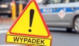 Policja Krosno Odrzańskie. Wypadek w okolicach Połupina. Motocyklista zderzył się z samochodem osobowym