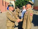 Pleszew. Jubileusz 40-lecia Związku Żołnierzy Wojska Polskiego z medalami i odznaczeniami