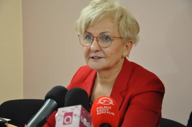 Wiceminister Iwona Michałek przyjechała do Piły na zaproszenie posła Grzegorza Piechowiaka