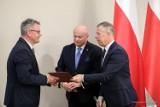 Burmistrz Dubiecka Jacek Grzegorzak w Radzie do spraw Samorządu Terytorialnego [FOTO]