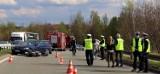 Bytom: policja szuka świadków śmiertelnego wypadku na al. Jana Pawła II