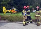 Bytom: Tragiczny wypadek z udziałem 9-latka. Na rowerze wpadł pod samochód. Na miejscu lądował śmigłowiec LPR