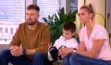 Siatkarka Developresu Rzeszów Gabriela Polańska i jej mąż Łukasz mają razem 407 cm wzrostu [WIDEO]